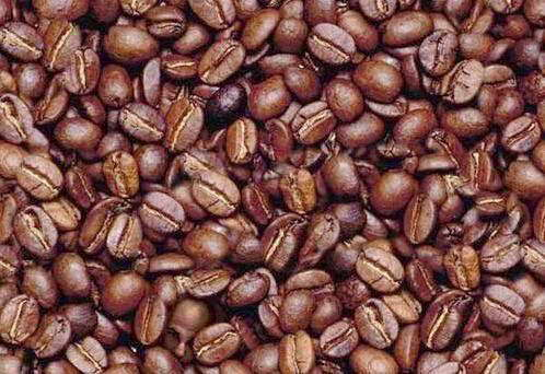 Find the man in the coffee beans...